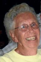 Arline Roberts ... enjoyed gardening; at 90