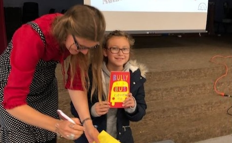 East Rochester school hosts Australian author's talk on her anti-bullying book