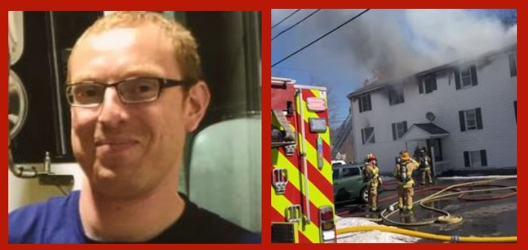 Death of firefighter who perished battling apartment house fire mourned