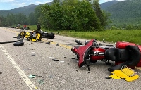 Seven motorcyclists dead in devastating crash involving pickup truck