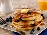 Veterans pay half price at blueberry pancake breakfast