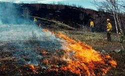 Controlled burn set for tomorrow on Blue Job mountain