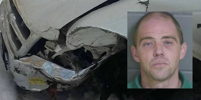 Police: Lebanon man stole neighbor's car, took it on joyride and crashed in Dover