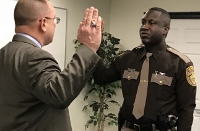 Sheriff's deputy promoted to sergeant, will serve with prisoner transport unit