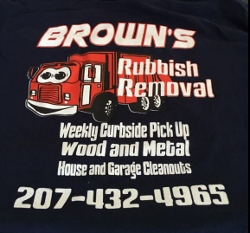 Brown's Rubbish Removal: because your time matters