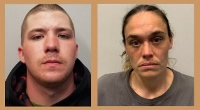 Pair nabbed on drug charges after woman shoves officer trying to catch roomie