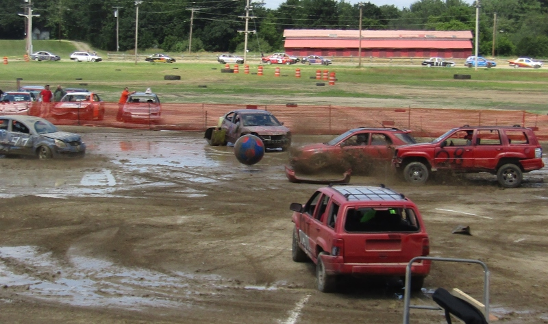 For twisted metal fans, car soccer tournament was a total ball