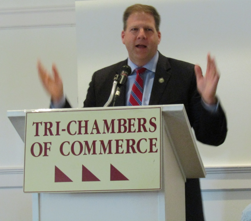 Sununu raps partisan rhetoric, saying that's not who we are in New Hampshire