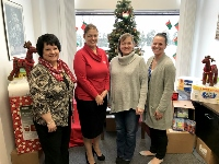 Chamber, SCU team up to aid kids at homeless shelter