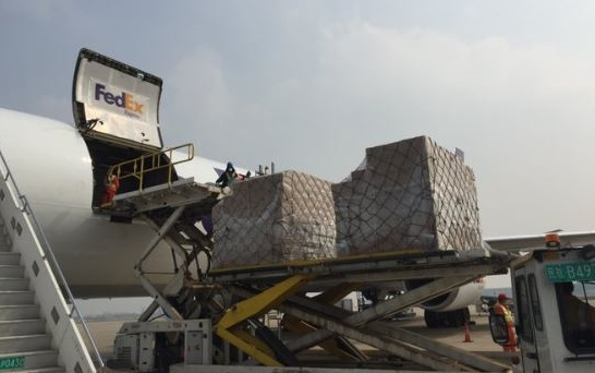 Hold on NH: 45 tons  of PPE on the way from China