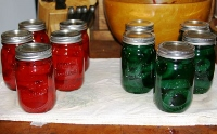 Christmas pickles: a colorful and sweet holiday treat