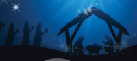 Lighting of the Creche set for Dec. 19 at Trinity Anglican Church