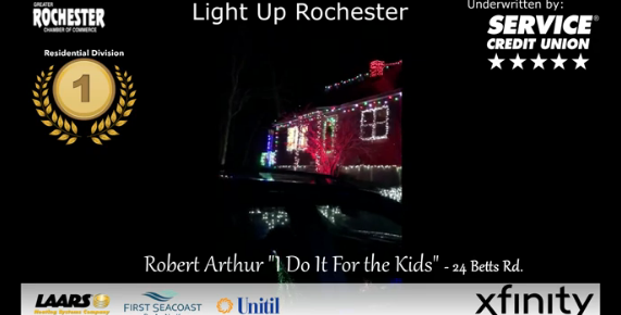 Comfort and Joy: 'Light up Rochester' Christmas display winners announced