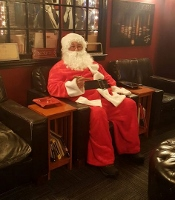 City Santa sightings portend milk and cookie treats with the jolly old elf, himself