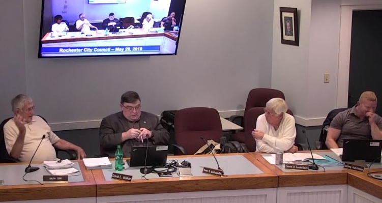 Sometimes chippy City Council meeting adds two new salaried positions