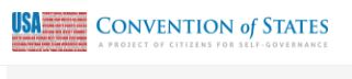 Convention of States volunteers sought for Election Day petition drive