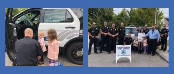 RPD steps up to the plate to help Rochester youngster, family battling cancer