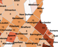 Durham is county hot spot with 96 COVID cases; Dover right behind at 92