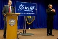 Sununu rolls out ASAP testing program, will be among first to use it.