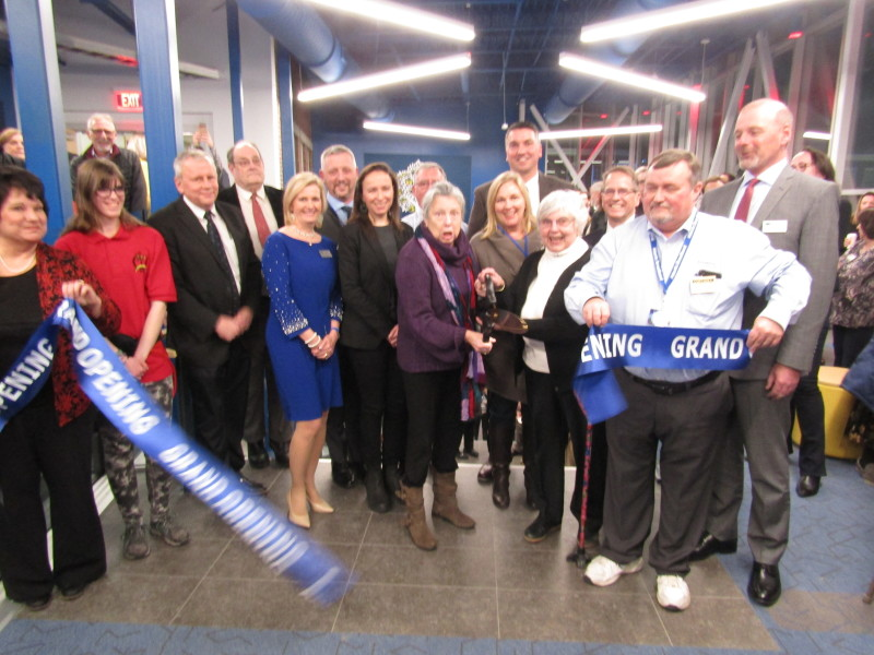 At R. W. Creteau Tech Center, a grand opening it was!