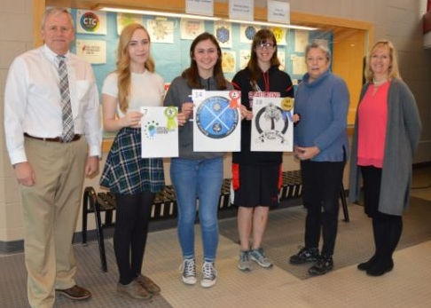 Creteau Tech junior wins logo design contest with inspiring 'tree of knowledge' image