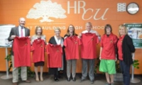 Dressed for success: Ceremony fetes student-designed logo on Creteau Tech shirts