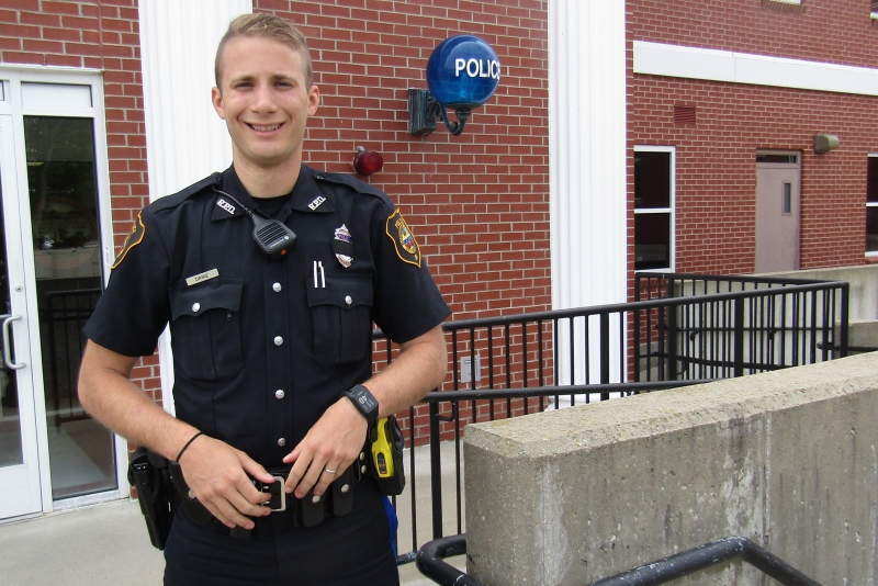 For Rochester Police Officer Kyle Danie, it's all about community