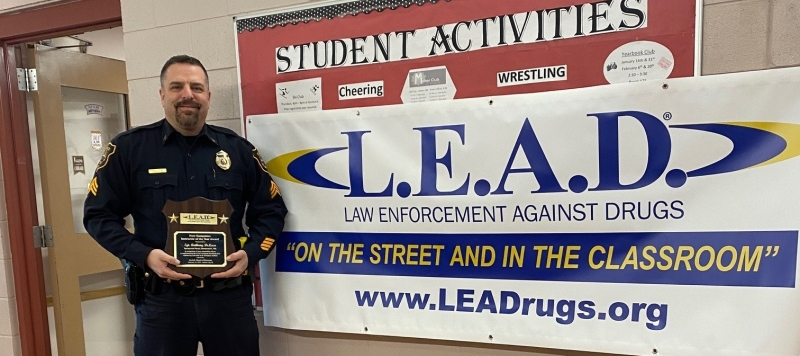Sgt. Deluca looks to LEAD kids away from drugs, alcohol and violence