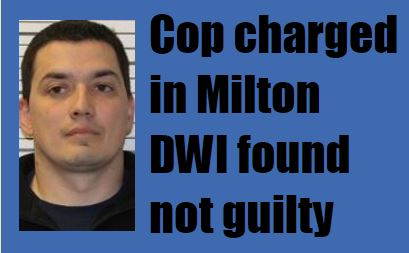 Ex-Middleton officer innocent in April 2015 DWI charge after rollover