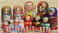 Russian crafts on display at Christmas Bazaar Dec. 16