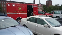 Bicyclist injured as she crashes into parked car on Central Ave.