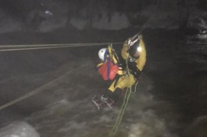 Dover hiker OK after spectacular high-water rescue in White Mountains