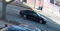 Police on lookout for dark sedan involved in pedestrian hit-and-run