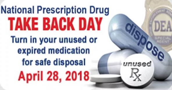 Area Prescription Drug Take Back Day set for Saturday