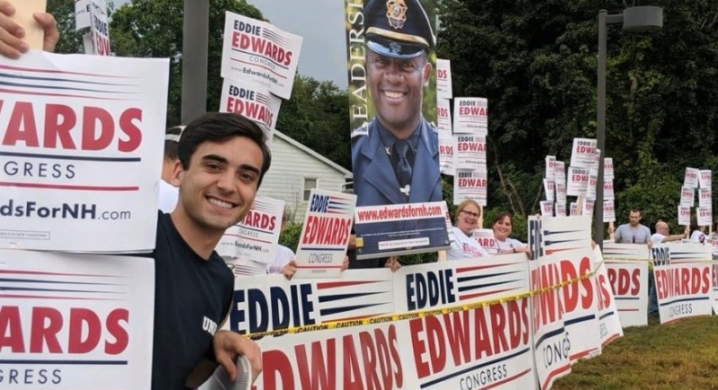 Edwards: Message of optimism, hard work, liberty resonating with young people