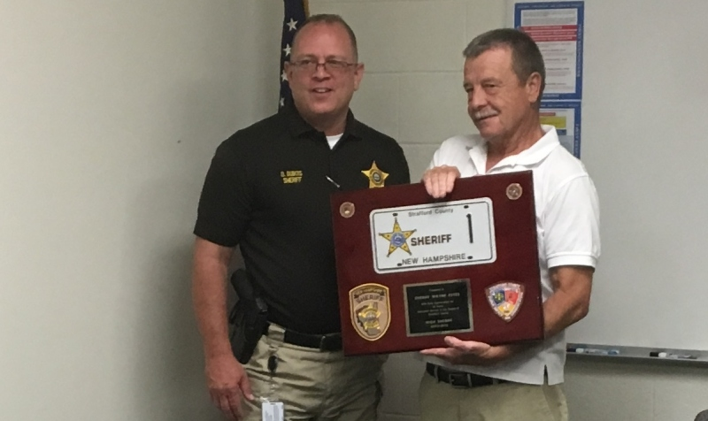 Former sheriff Estes celebrates 40 years of Sheriff's Office service