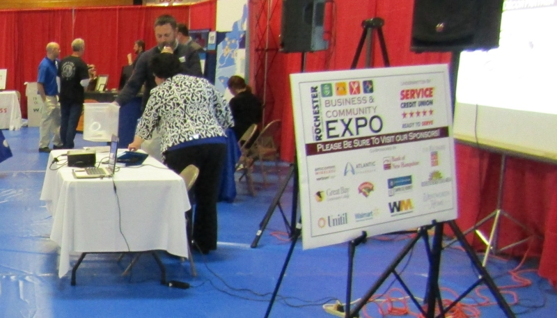 There was something for everyone at Wednesday's Business Expo