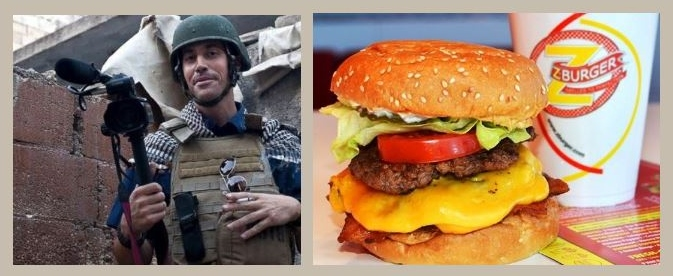 Burger chain's tweet using slain journalist as prop not fit for human consumption