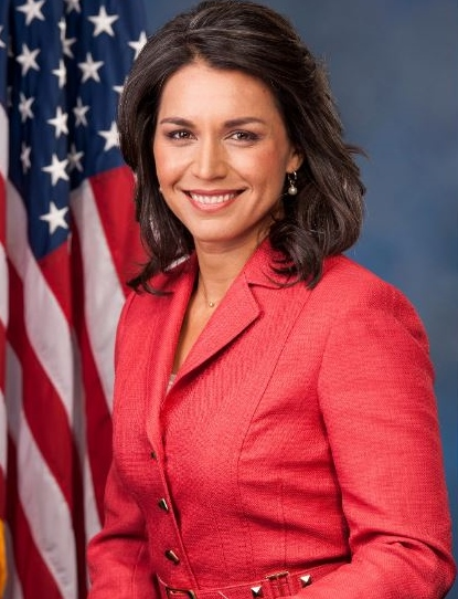 Tulsi Gabbard will take to the Castle for Wednesday Town Hall
