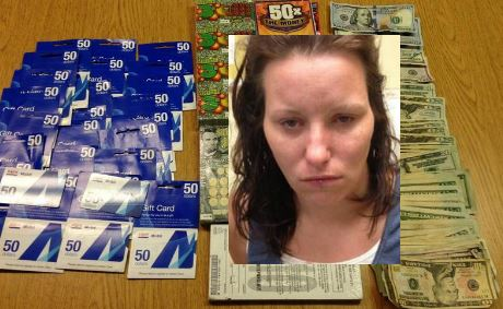 Berwick woman on high bail in Hometown Mobil burglary