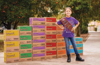 Celebrate Girl Scout Cookie Weekend with a donation to deliciousness