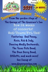 It's gonna be a hot one: Governor's Inn Garage Summer Series begins tonight!