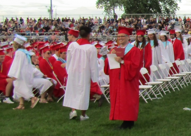 Spaulding grads urged to stay positive and 'drown out the negative'