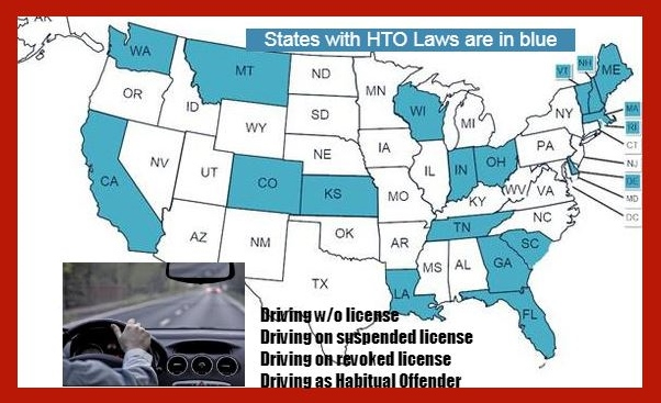 Who's out there driving without a license, and where do they come from?