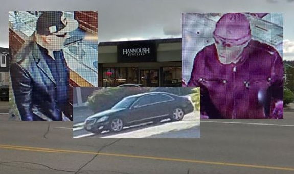 Police on hunt for suspects in armed heist of Dover jewelry store
