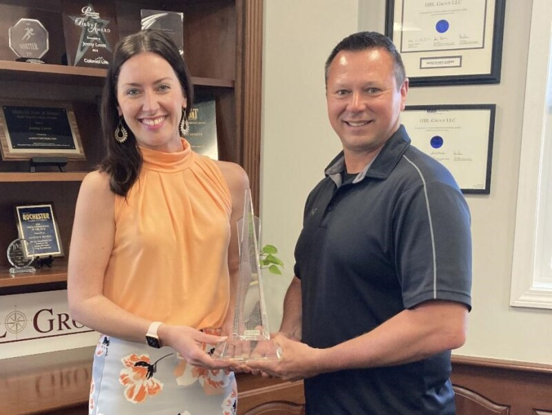 HBL's Turgeon recognized for outstanding first quarter