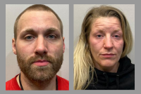 Pair accused of dealing, possessing drugs during nighttime arrest at storage facility