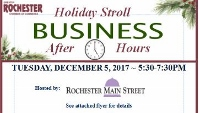 December Business after Hours features a holiday stroll