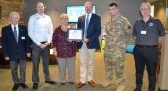 HRCU recognized  for its support of employees in the Guard and Reserves