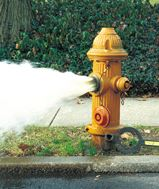 Annual hydrant flushing will continue into November